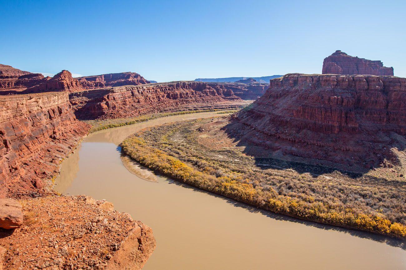 Colorado River Potash Road