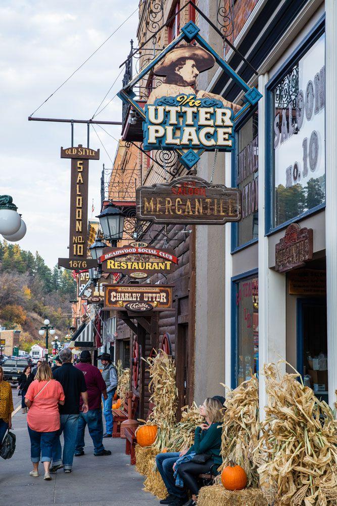Deadwood in October