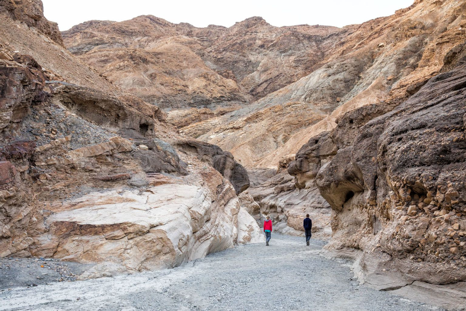 Entering Mosaic Canyon