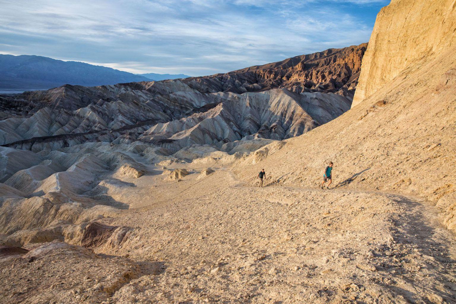 Golden Canyon Gower Gulch Hike