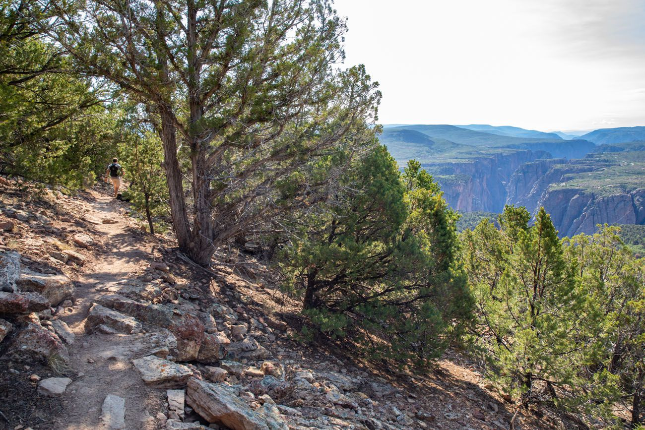 Green Mountain Hike North Rim of Black Canyon of the Gunnison