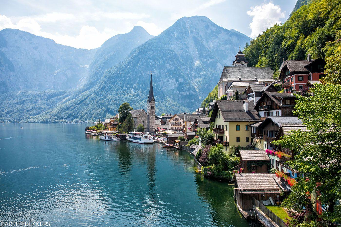 Hallstatt Austria places to visit in Europe