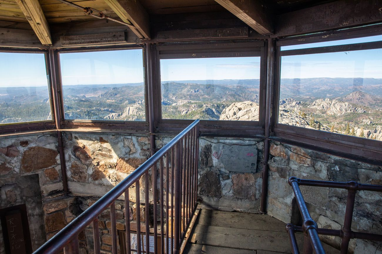 Harney Peak Fire Lookout Building