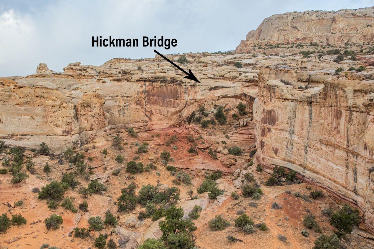 Hickman Bridge Overlook