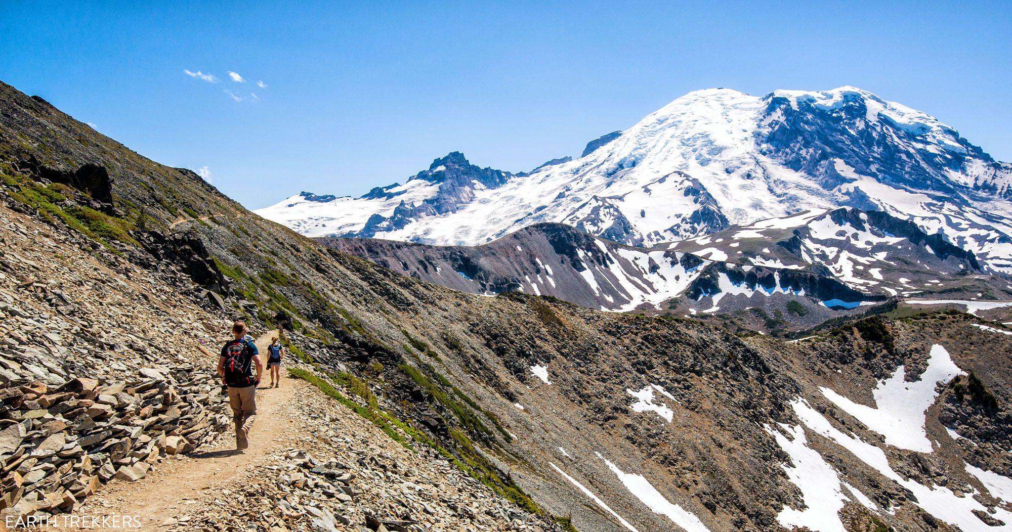 Hike Mount Rainier National Park