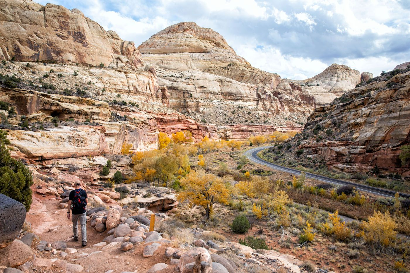 Hiking Capitol Reef