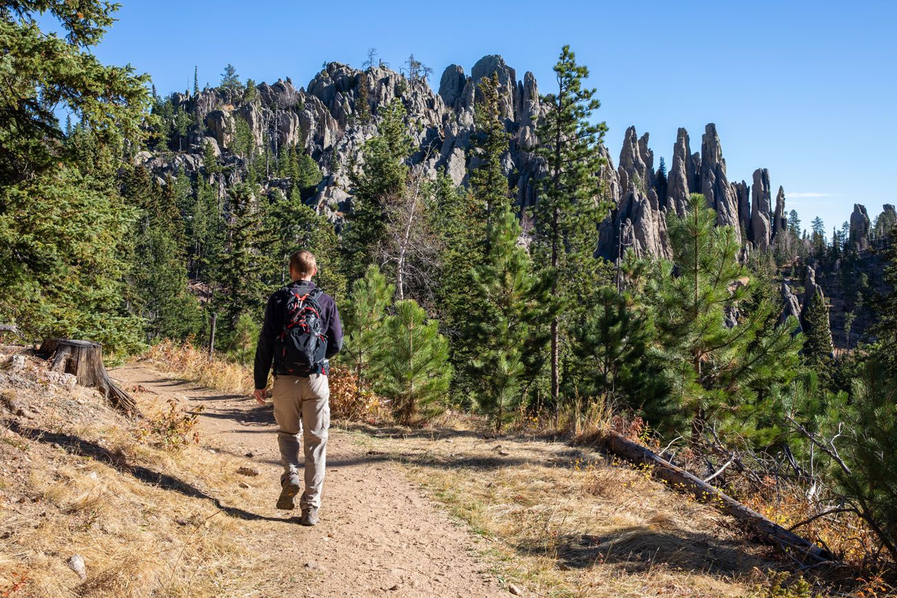 Hiking Custer State Park best hike in Custer State Park