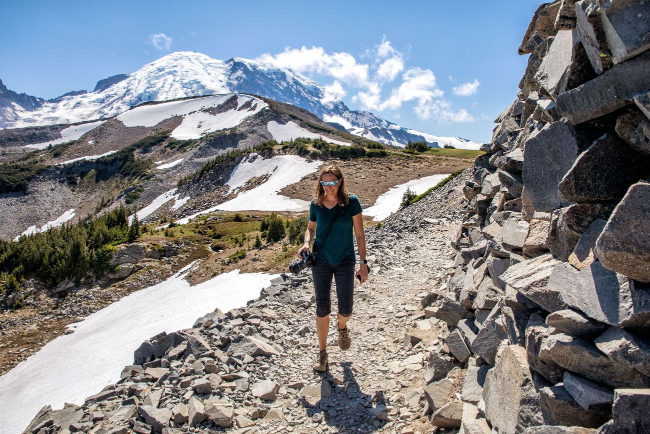 Julie in Mount Rainier