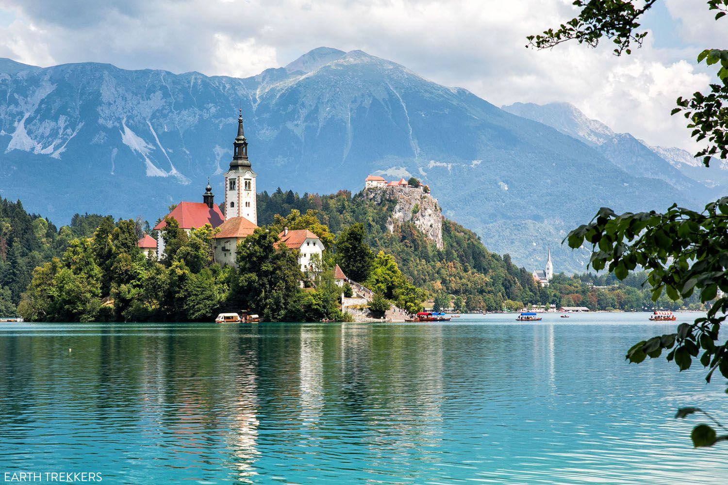 Lake Bled places to visit in Europe