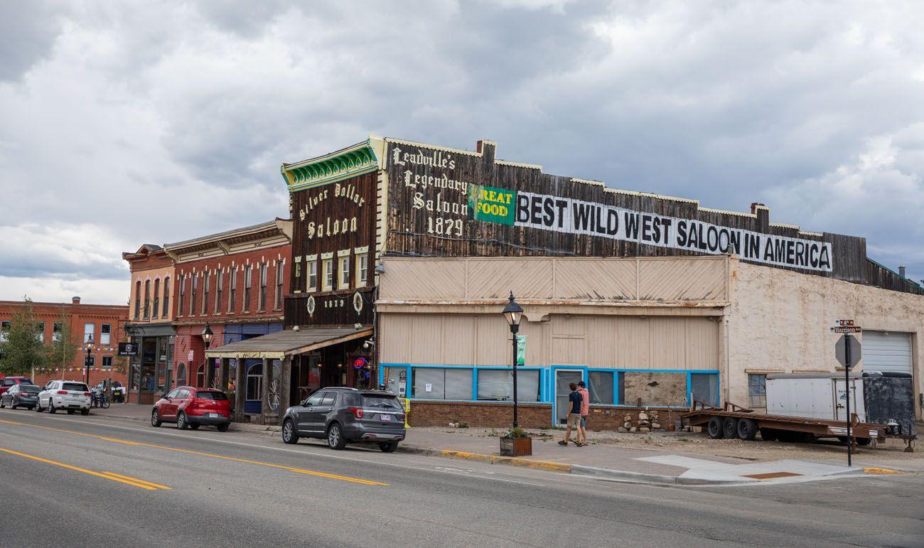 Leadville best scenic drives in Colorado