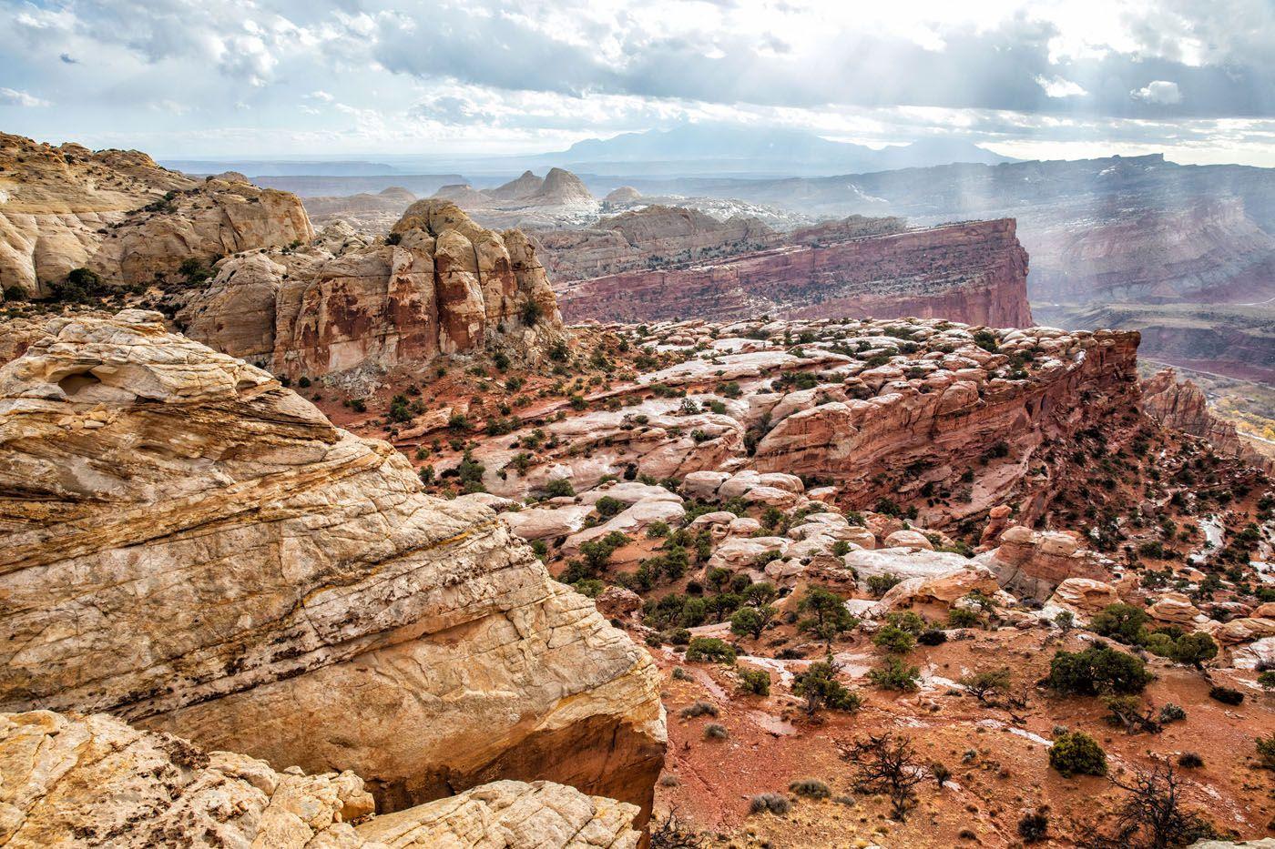 Navajo Knobs Capitol Reef