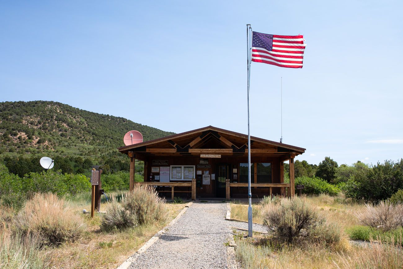 North Rim Visitor Center North Rim of Black Canyon of the Gunnison