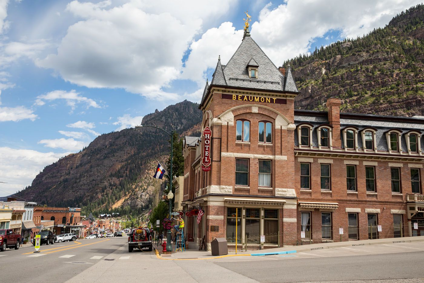 Ouray scenic drives in Colorado