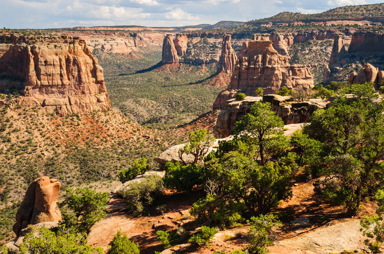 Photo of Colorado National Monument scenic drives in Colorado