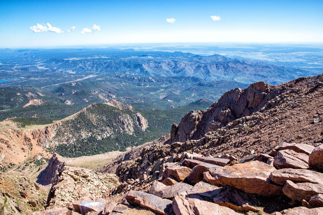 Pikes Peak View scenic drives in Colorado