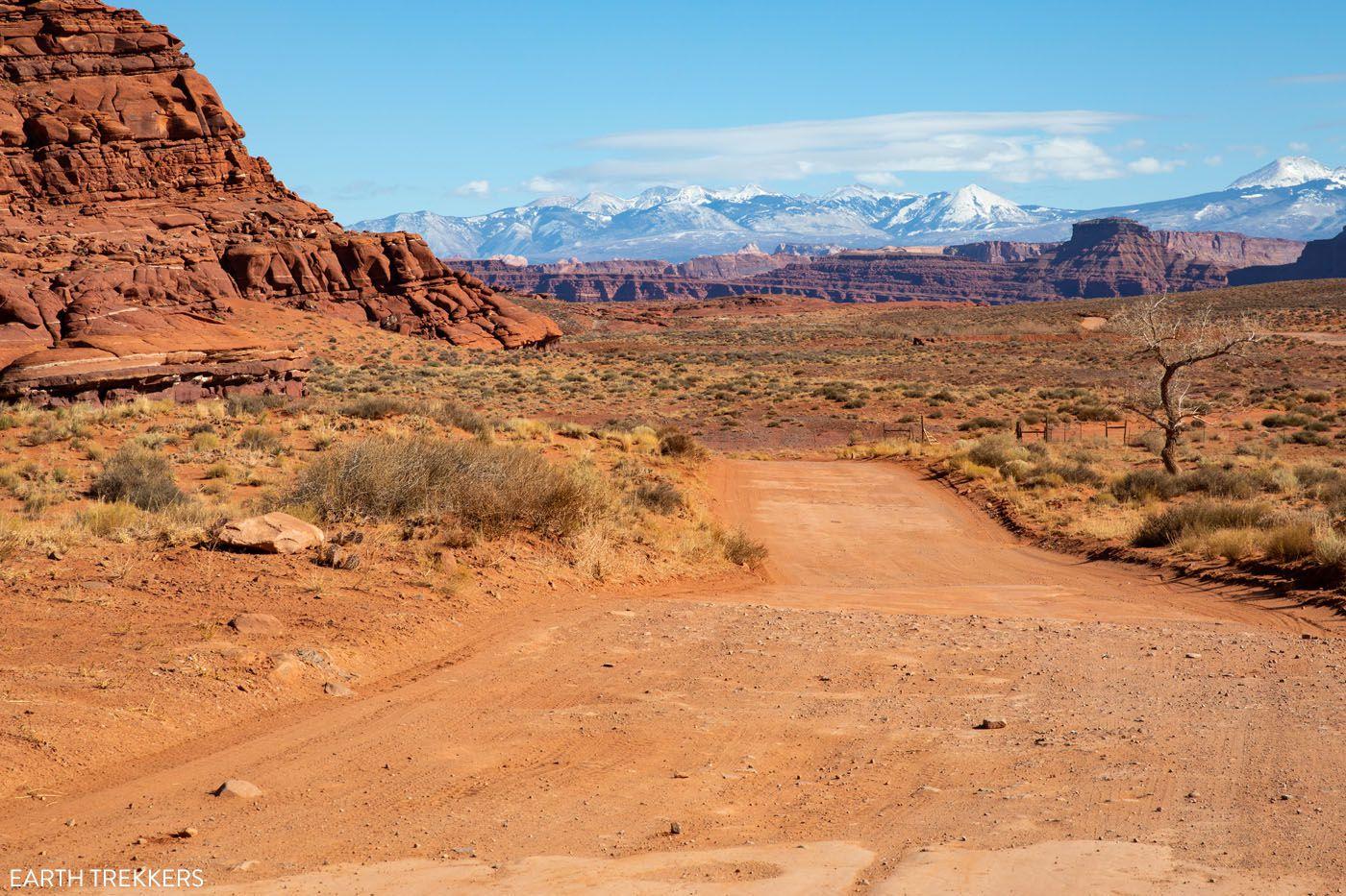 Potash Road to Moab