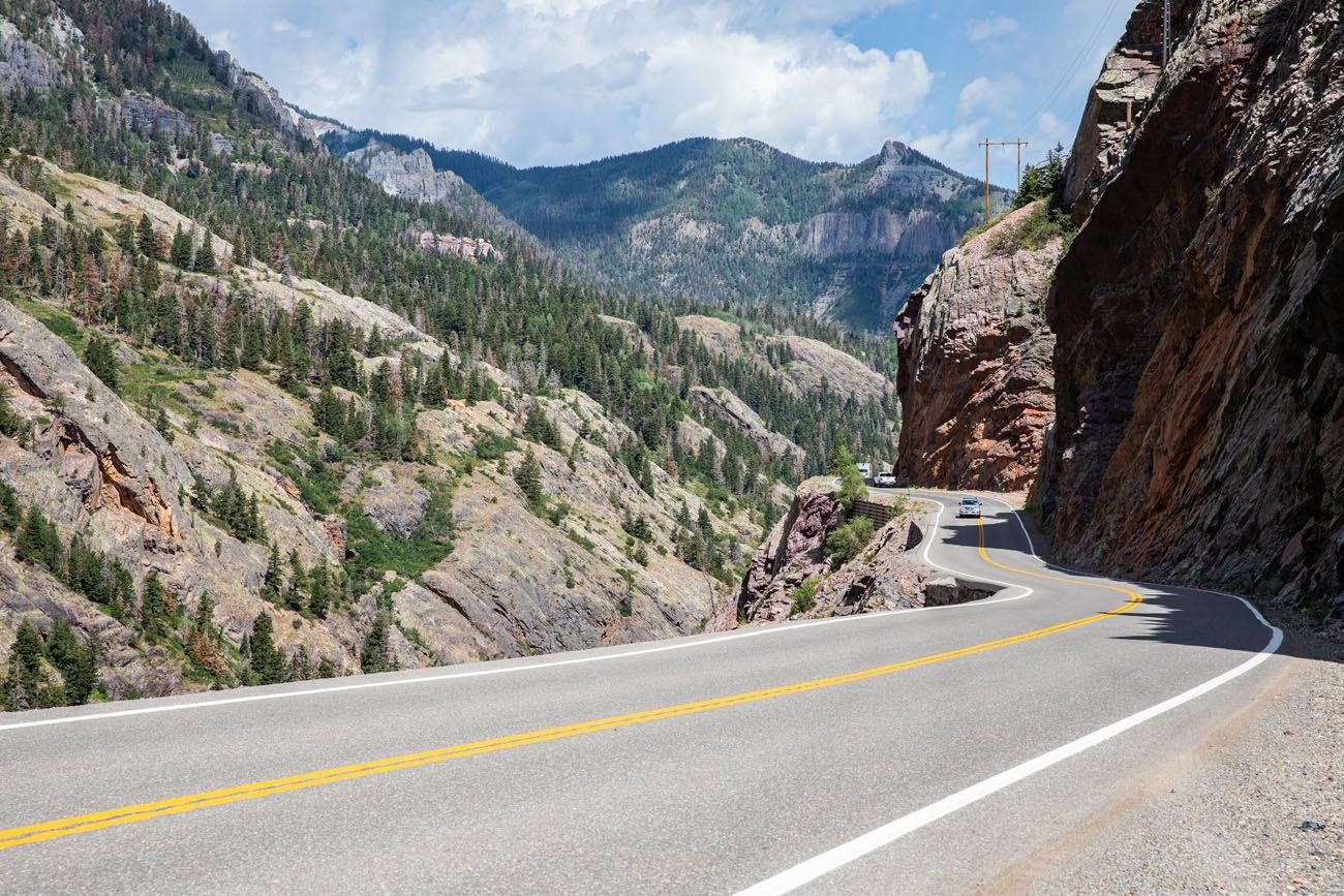 San Juan Skyway scenic drives in Colorado