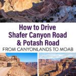 Shafer Canyon Road Canyonlands to Moab