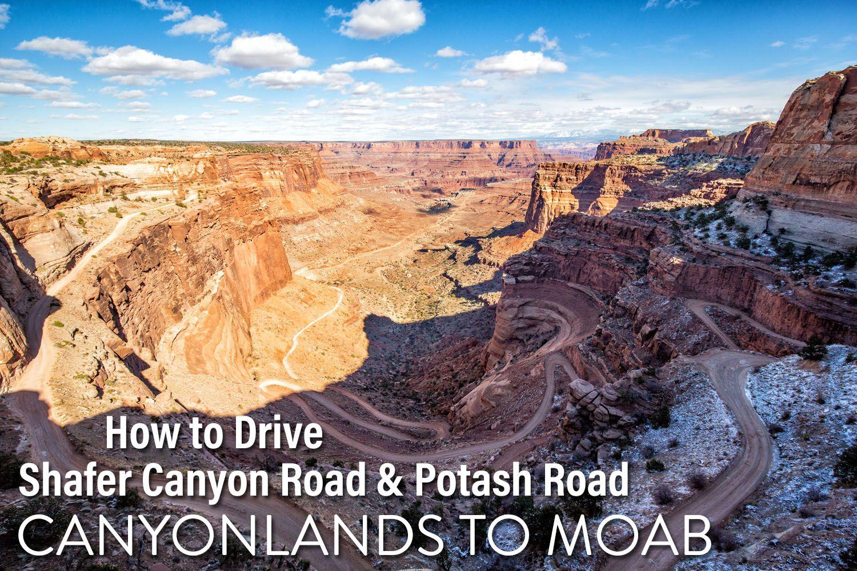 Shafer Canyon Potash Road
