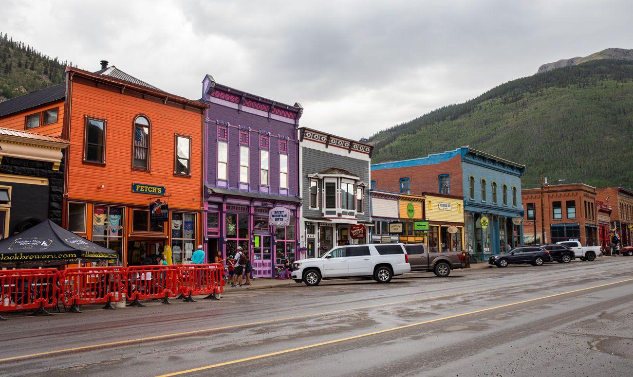 Silverton best scenic drives in Colorado