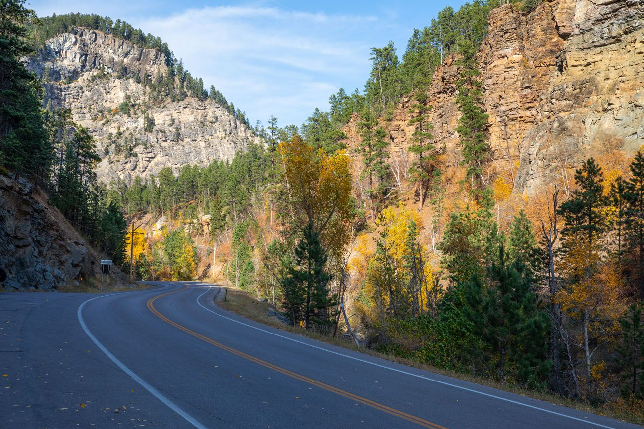 Spearfish Canyon things to do in South Dakota
