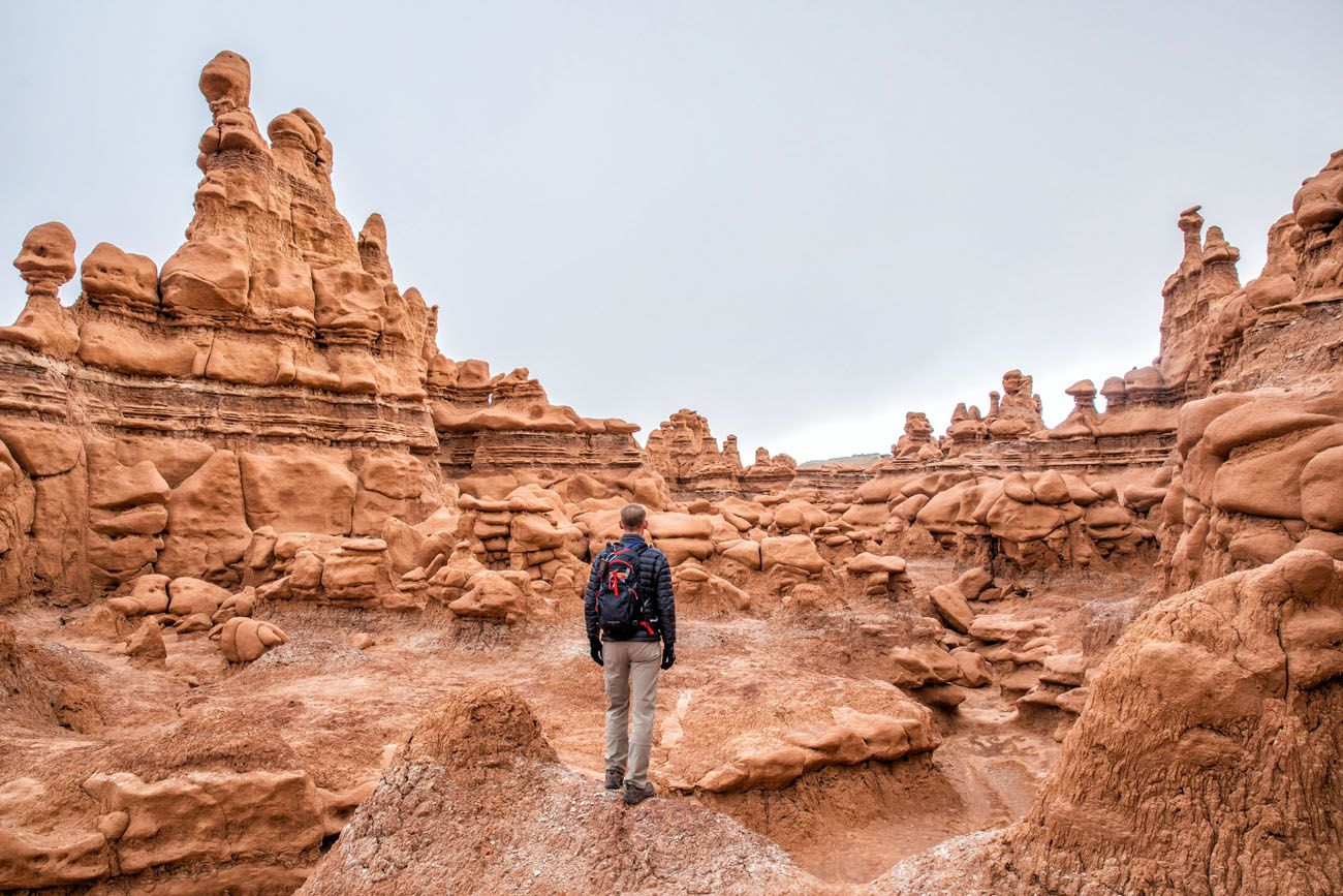 Tim in Goblin Valley