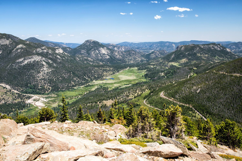 Trail Ridge Road View