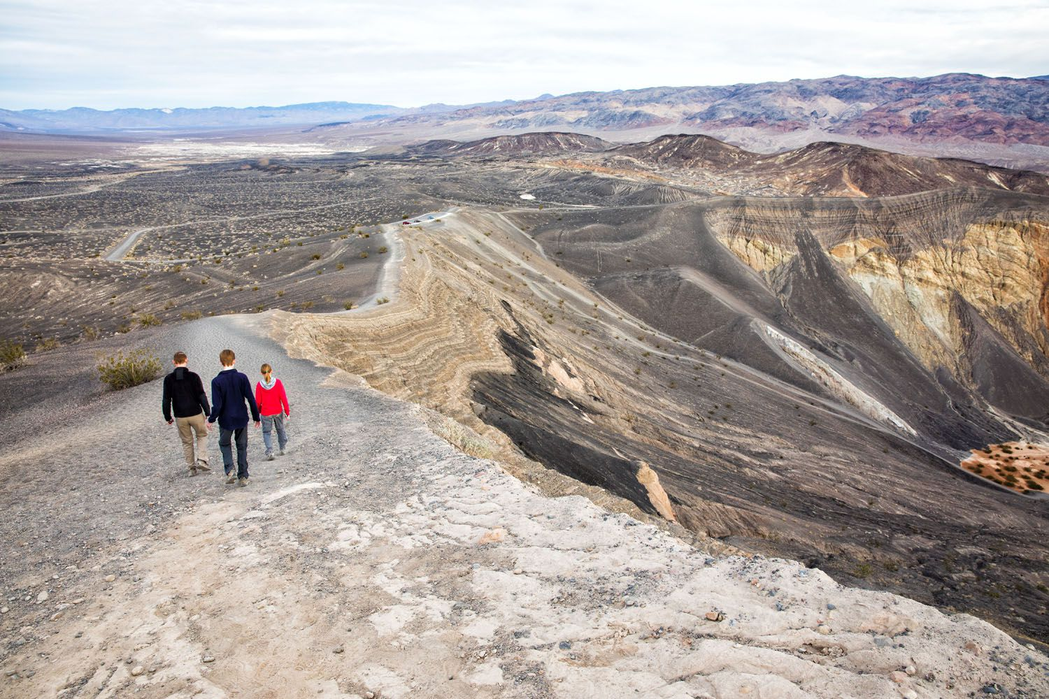 Ubehebe Crater Trail