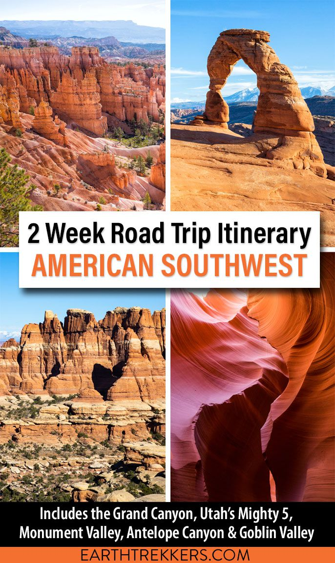 American Southwest Itinerary Grand Canyon