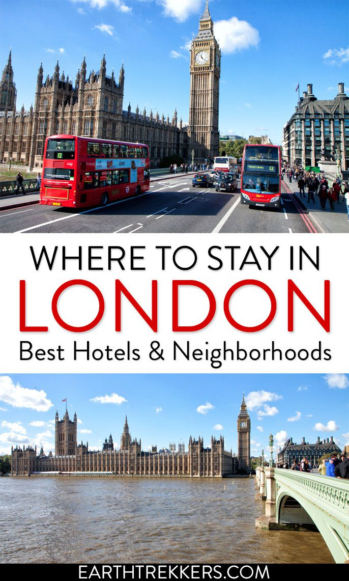 Best Places to Stay in London England