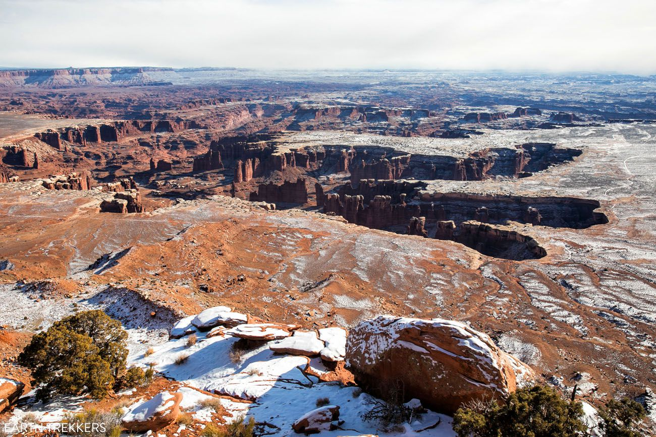 Canyonlands in December