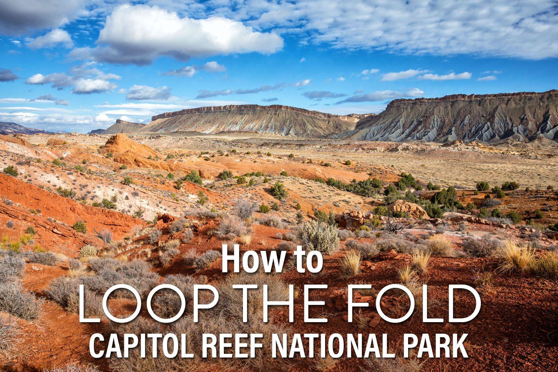 Capitol Reef Loop the Fold