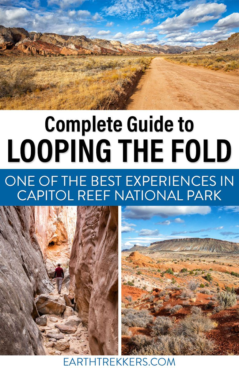 Capitol Reef National Park Loop the Fold