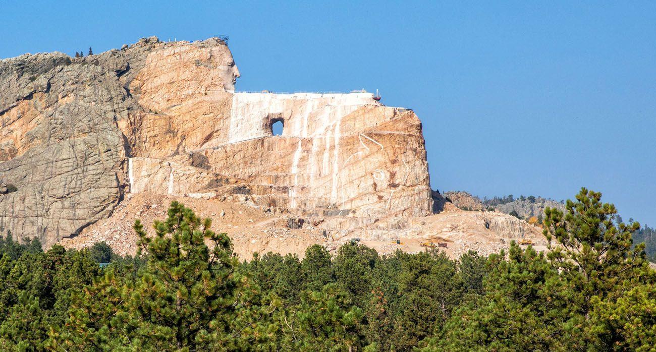 Crazy Horse Memorial South Dakota itinerary