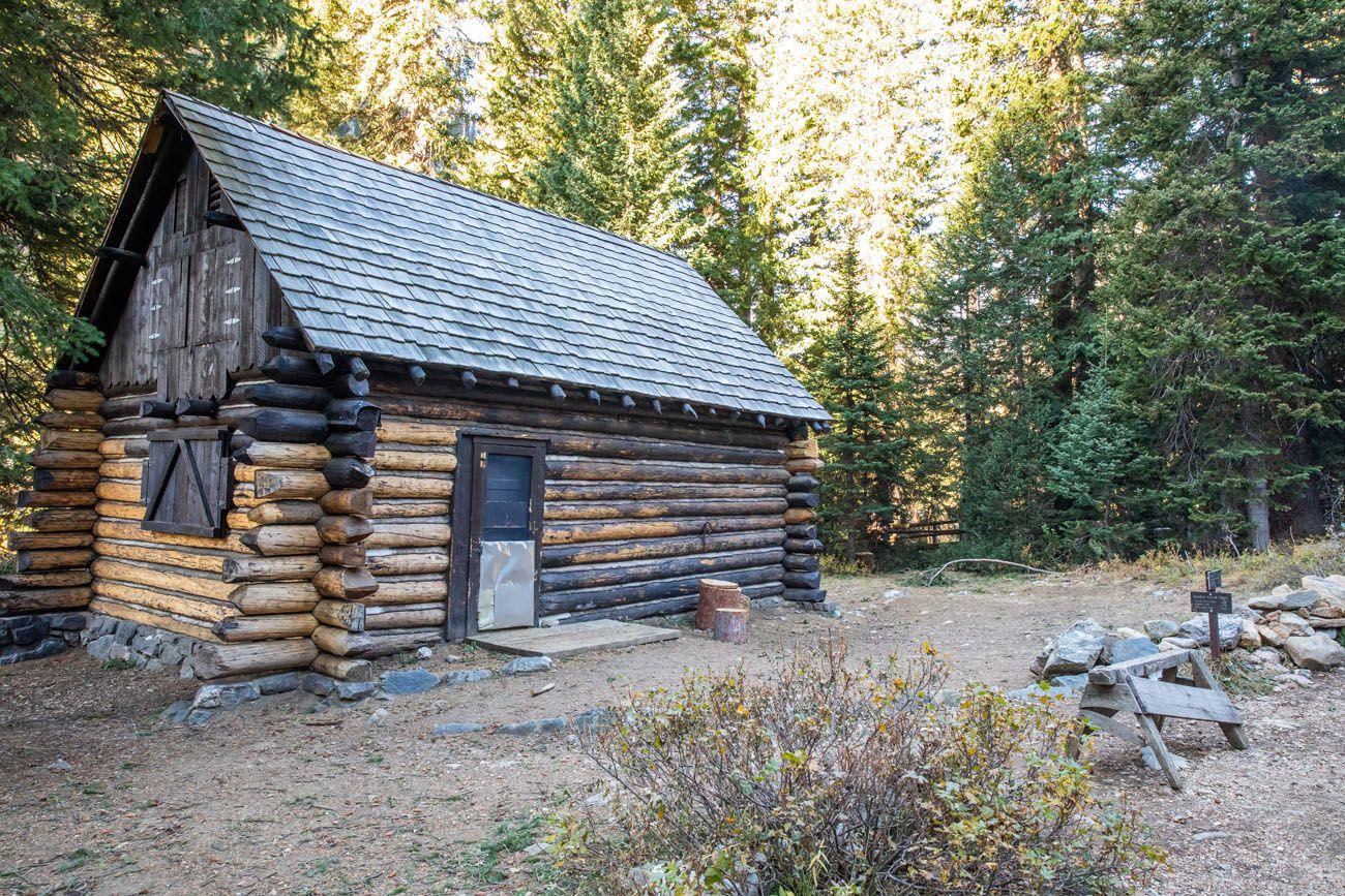 Death Canyon Patrol Cabin