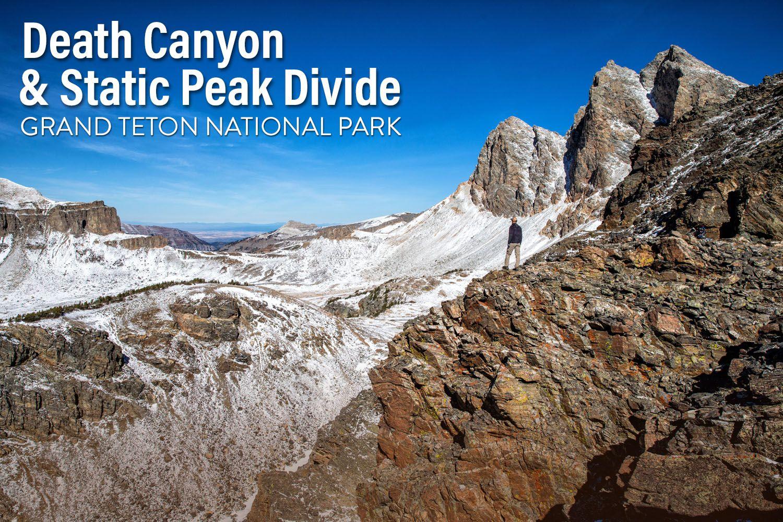 Death Canyon Static Peak