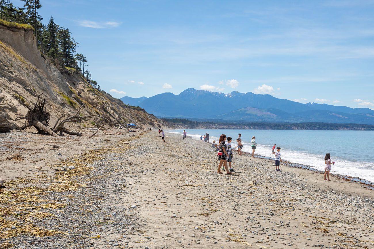 Dungeness Spit Beach