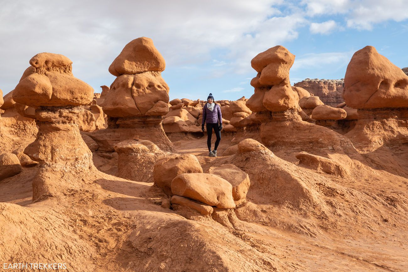 Goblin Valley in November