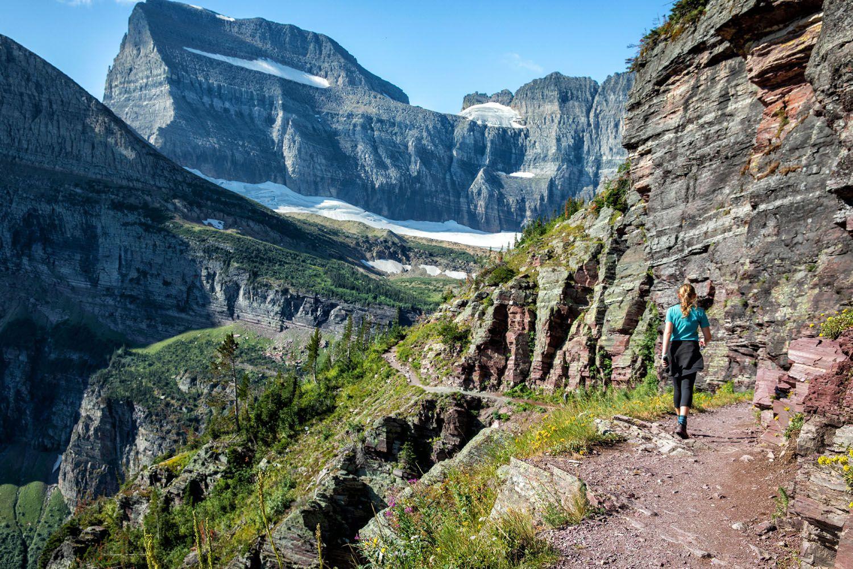 Grinnell Glacier Hiking Trail