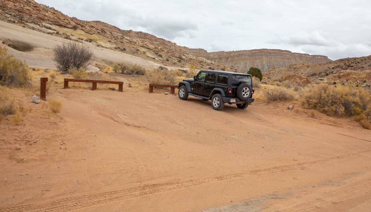 Headquarters Canyon Parking