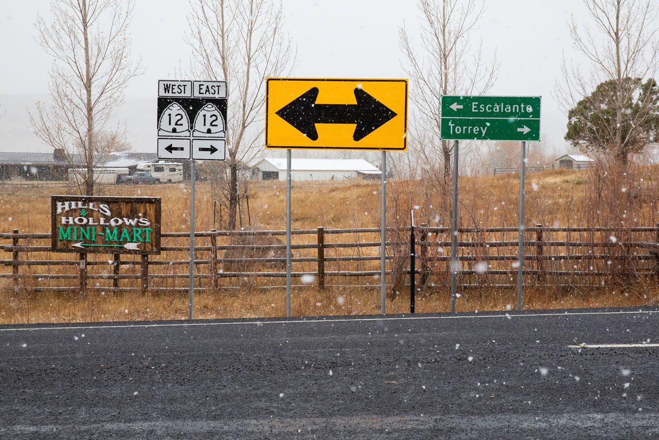 Highway 12 Junction Loop the Fold