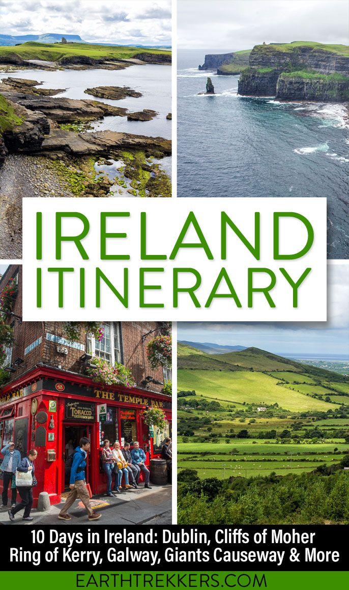 Ireland Itinerary Ireland Travel