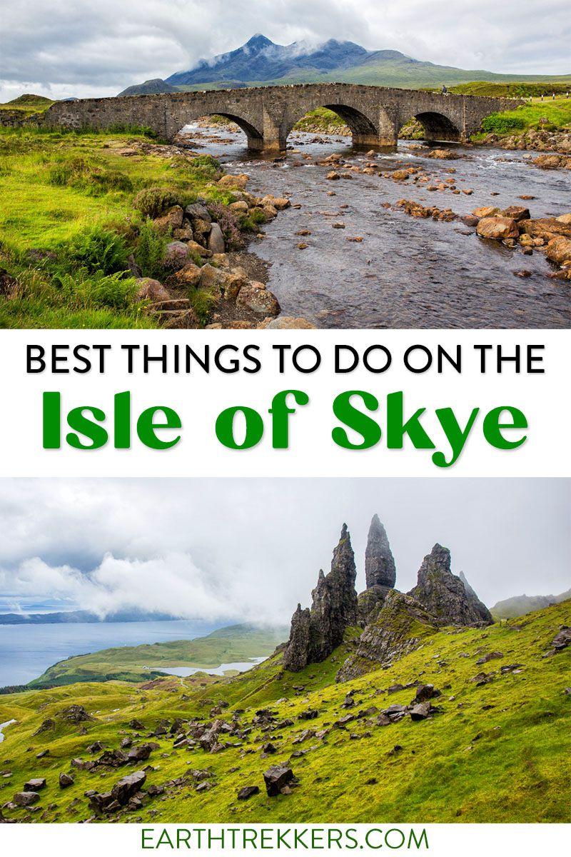 Isle of Skye Scotland Things to Do