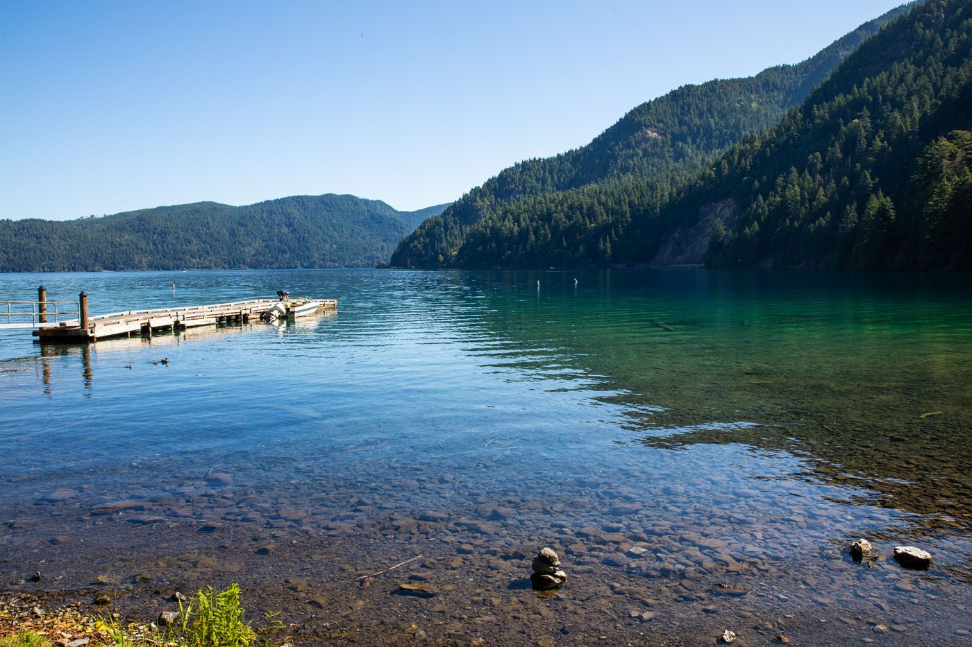 Lake Crescent Photo