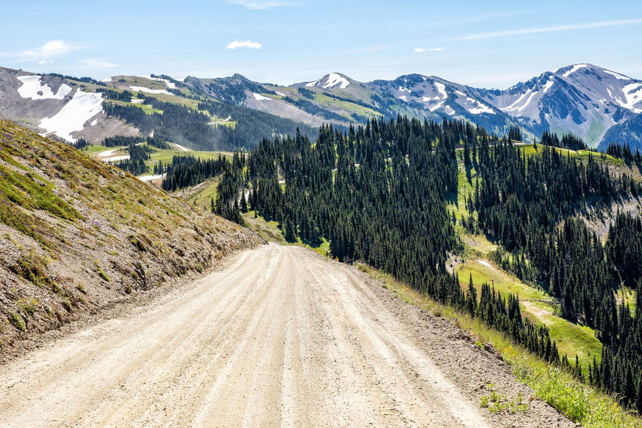 Obstruction Point Road
