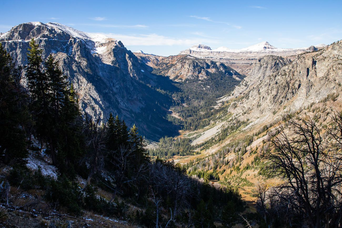 Overlooking Death Canyon