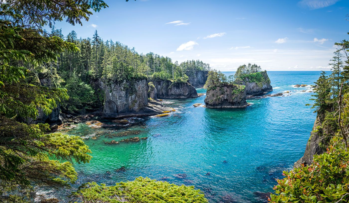 Cape Flattery hikes in Olympic National Park