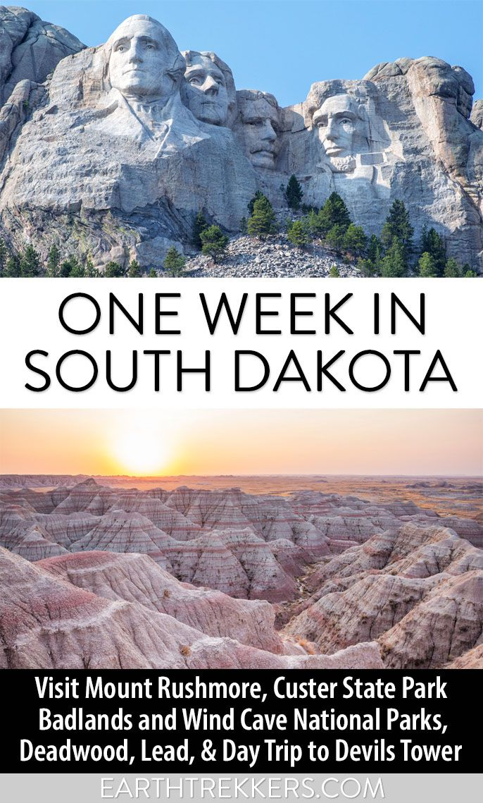 South Dakota Rushmore Badlands