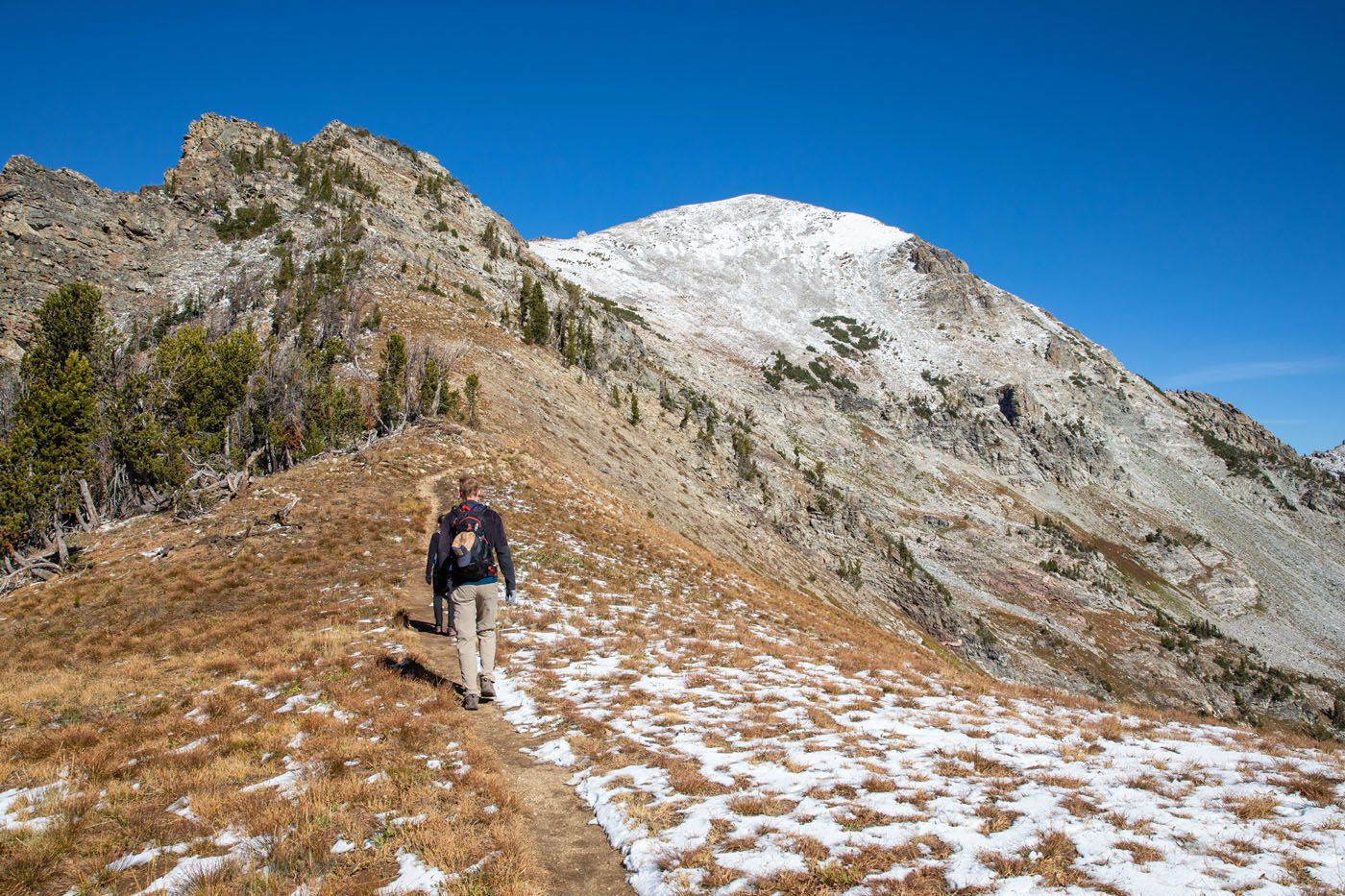Trail to Static Peak Divide