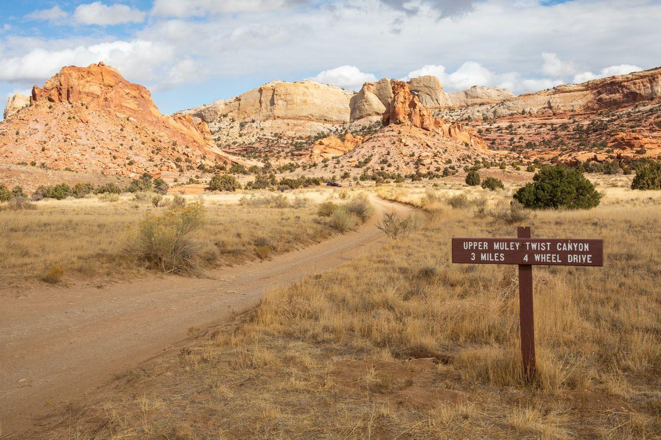 Upper Muley Twist Road